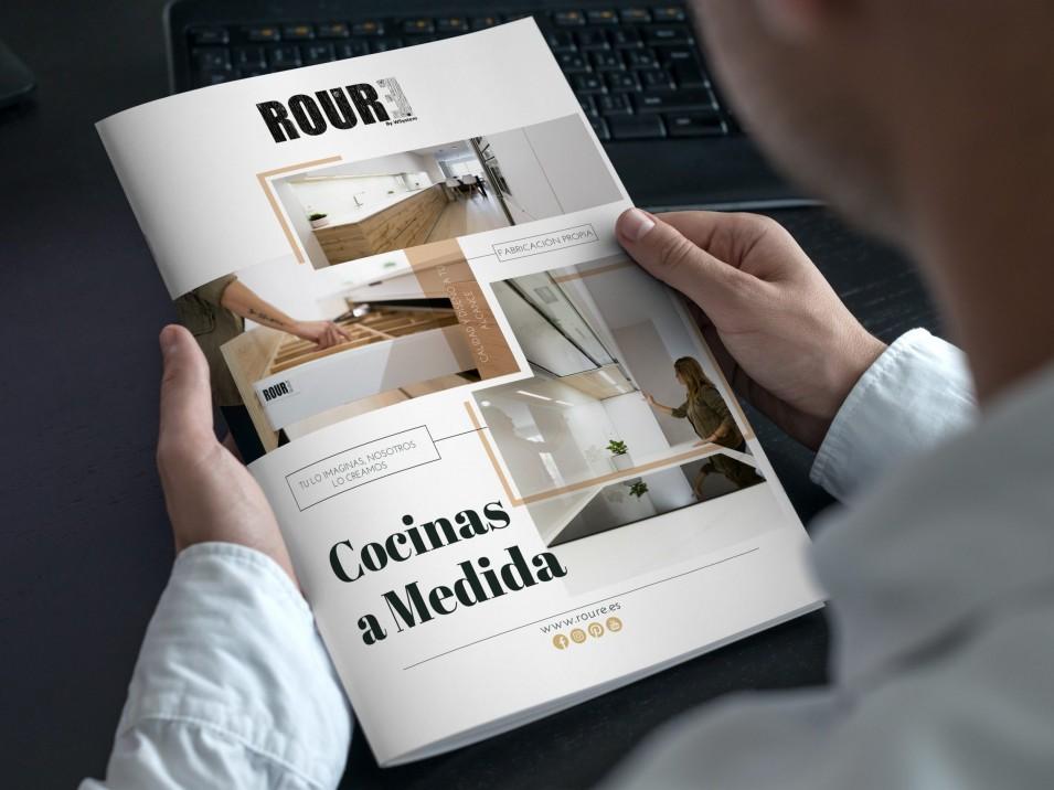 folleto roure cocinas diseño anais penalba